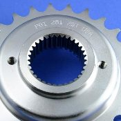 281- 5-speed, .750 in. offset, wide spline PBI 281