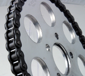 2073 Aluminum Flat H/D Rear Sprocket.